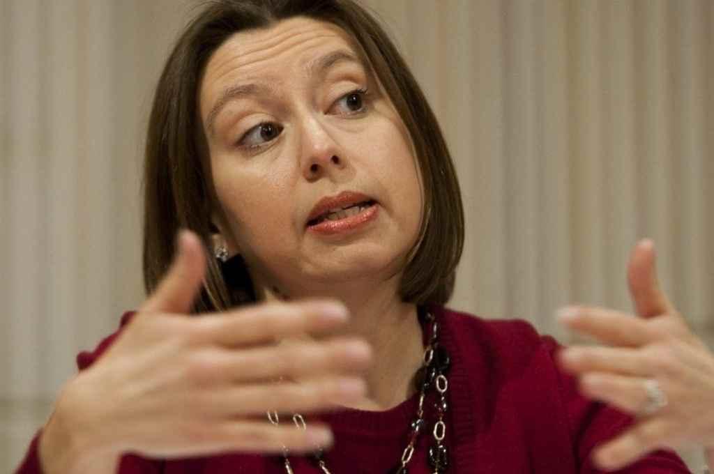 Julie Kozack, a cargo de las negociaciones con el gobierno argentino.    Crédito: Agencia NA