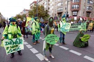 Alemania comenzó una semana de protestas en defensa de los bosques