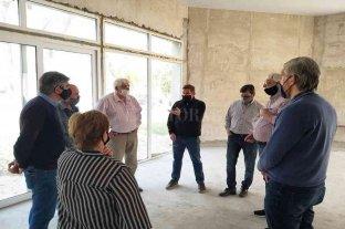 Borla visitó instituciones de San Justo y entregó recursos económicos