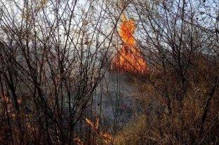 Dos focos de incendios continúan fuera de control en Jujuy