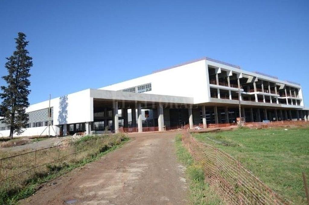 El Hospital Regional Sur de Rosario. Crédito: Mirador Provincial