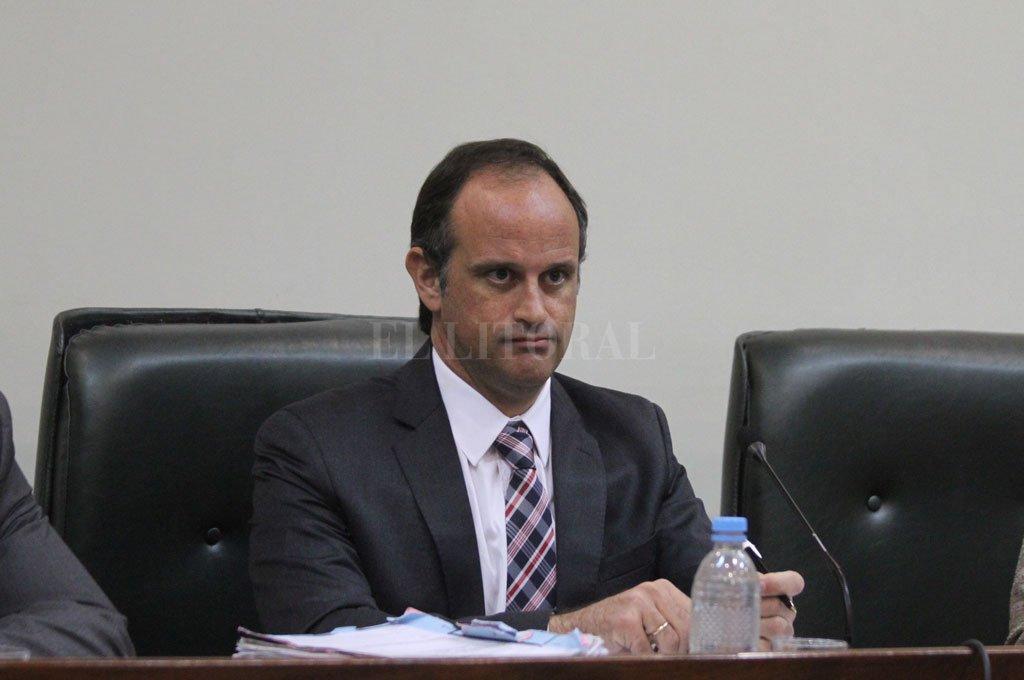 El juez Luciano Lauría impuso 4 años de prisión y multa de $ 243.000 par Leonardo Ariel Budiño. Crédito: Guillermo Di Salvatore/Archivo