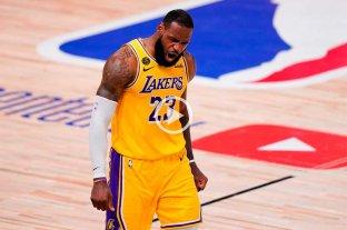Los Angeles Lakers le ganó a Miami Heat y quedó a un paso del título
