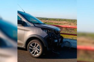 Autopista: un choque en la mano a Santa Fe provocó demoras en el ingreso a la ciudad
