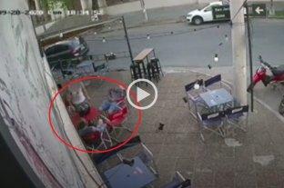 """Video: robos y """"transa"""" de droga en Boulevard y San Jerónimo"""