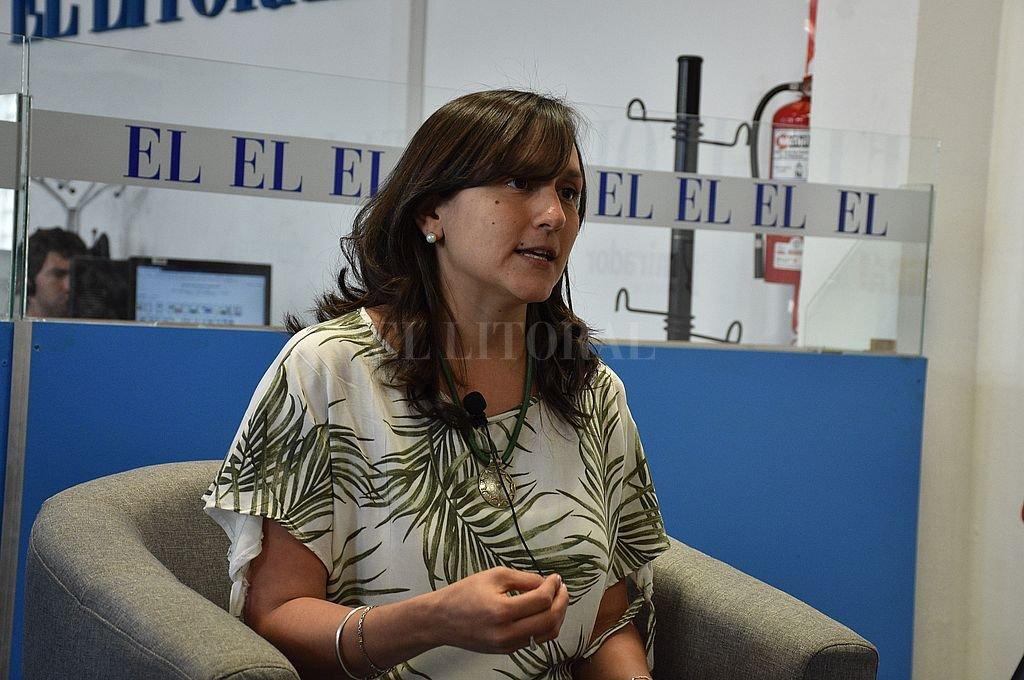 Laura Mondino (Santa Fe Puede Más – FPCyS). Crédito: Guillermo Di Salvatore / Archivo