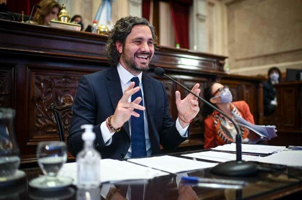 Santiago Cafiero.   Crédito: Agencia NA