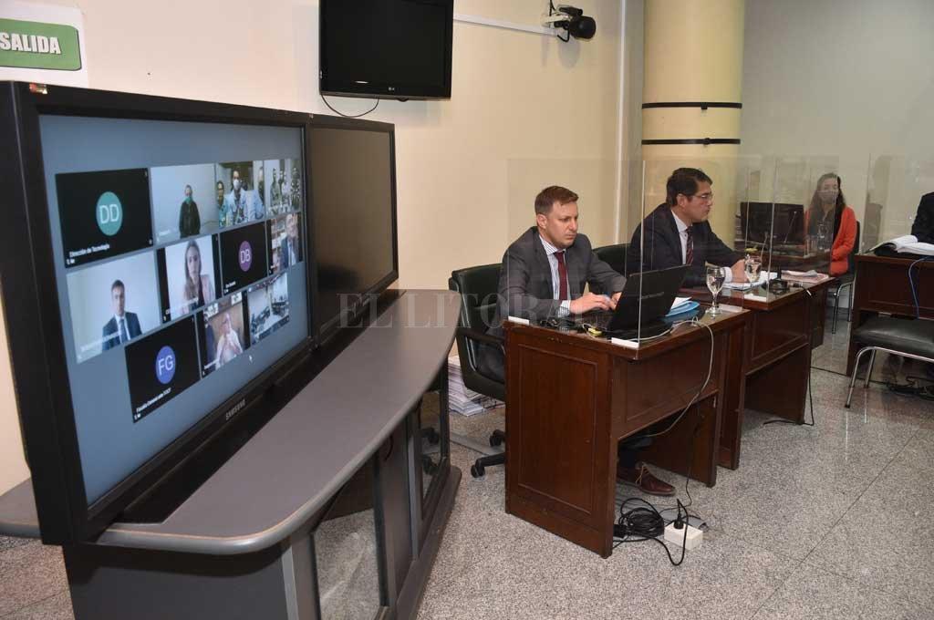 Todos los imputados seguirán el debate por videoconferencia desde sus lugares de detención. Crédito: Flavio Raina