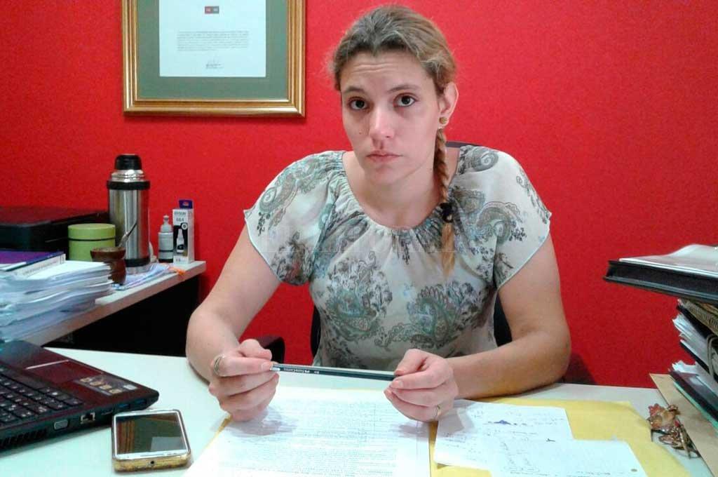 """""""No va a ser posible por cámara percibir las emociones de los declarantes"""", enfatizó la Dra. Celeste Rosa Hertelendi Crédito: Archivo El Litoral"""