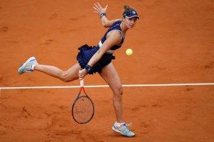 Puros elogios para Podoroska en las redes por su actuación en Roland Garros