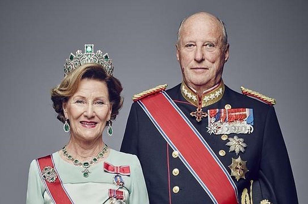 Harald V y Sonia de Noruega Crédito: ABC