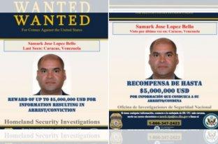 Ofrecen cinco millones de dólares por la captura de Samarck José López Bello