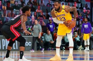 Horario y TV: Los Angeles Lakers va por el título ante Miami Heat en la NBA -  -
