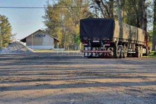 Matilde: trabajan en el ordenamiento del tránsito pesado de cara a la cosecha de trigo