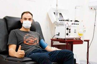 El Hospital de Venado Tuerto ya comenzó a recibir a los donantes de plasma