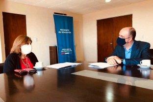 """José Corral: """"Entregamos a la ministra Cantero propuestas para el regreso a la escuela"""""""
