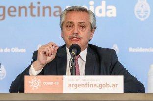 Alberto Fernández anuncia la extensión del aislamiento