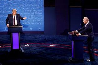 Trump y Biden se enfrentan en el último debate a 12 días de las elecciones en Estados Unidos -  -