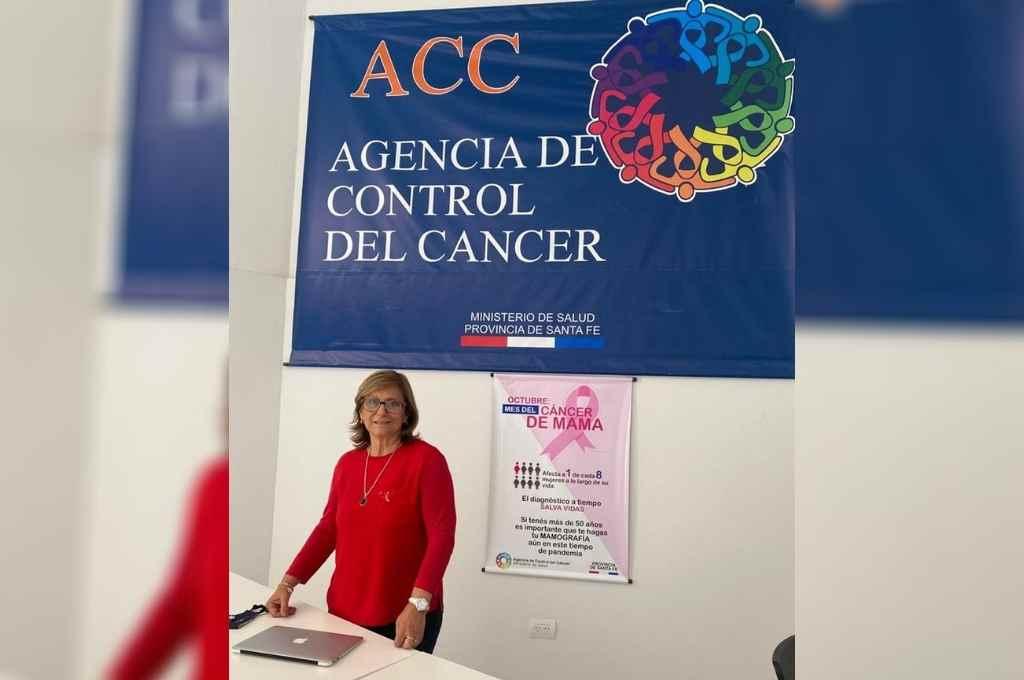 Graciela López, directora de la Agencia provincial de Control de Cáncer.   Crédito: Gentileza Prensa Ministerio de Salud