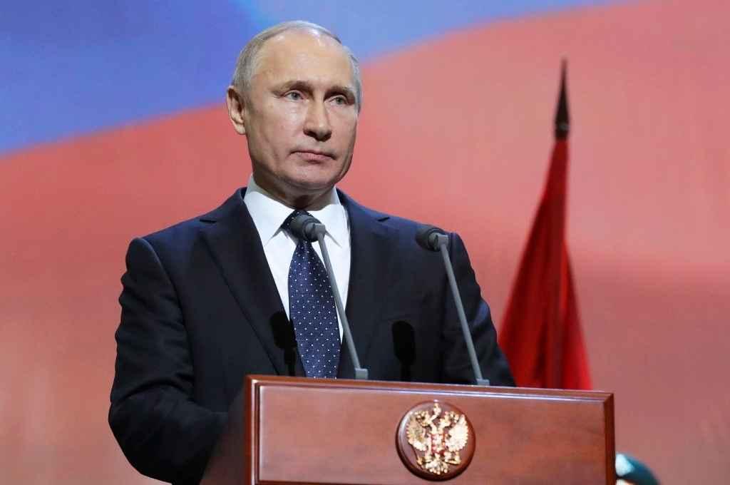 Vladimir Putin, presidente de Rusia. Propuso un cese de las hostilidades para intercambiar prisioneros y recoger cuerpos de soldados muertos.   Crédito: Archivo