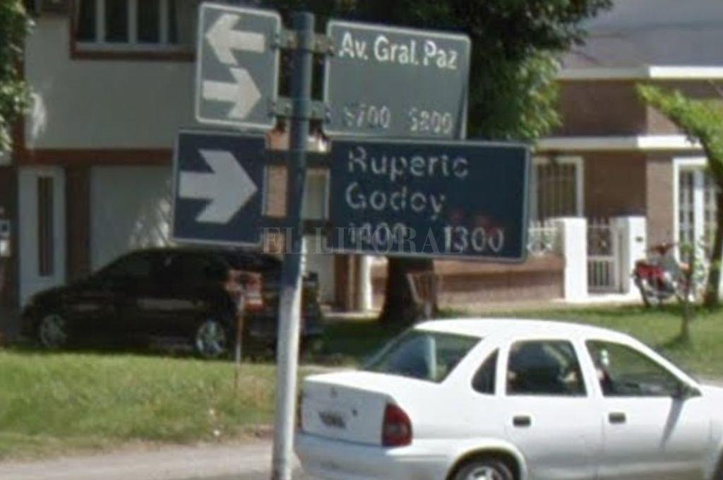 La cuadra del hecho. Crédito: Google Maps