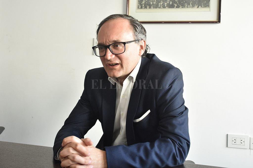 Gustavo Idígoras, presidente de la Cámara de la Industria Aceitera (CIARA) e integrante del Consejo Agroindustrial Argentino. Crédito: Manuel Fabatia