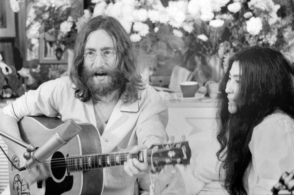 John y Yoko en Montreal. Crédito: Archivo El Litoral