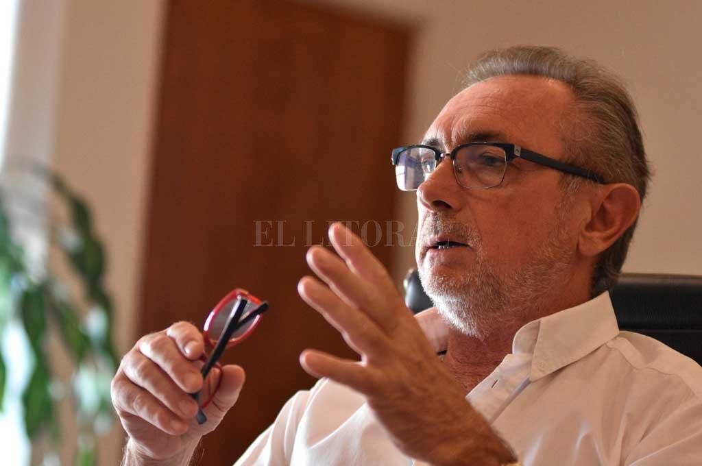 Costamagna es optimista pese a las dificultades - En los próximos días, Costamagna acompañará al gobernador Perotti en recorridas por empresas de la provincia que exportan parte de su producción con fuerte valor agregado. -