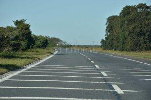 Siniestro fatal en la autopista Santa Fe - Rosario: murió un ciclista