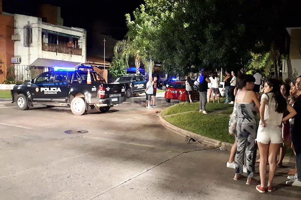 Aquella noche el suceso provocó una profunda conmoción entre los vecinos de Guadalupe. Crédito: Archivo El Litoral