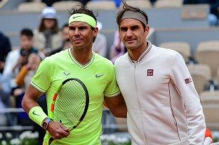 Federer felicitó a Nadal tras igualar su marca de títulos de Grand Slam