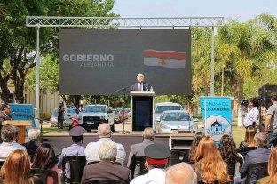 Lifschitz participó del acto central por el 150 aniversario de la comuna de Alejandra