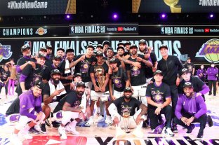 Los Lakers se consagraron campeones de la NBA -  -