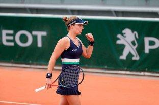 Nadia Podoroska se metió entre las mejores 50 tenistas del rankig WTA