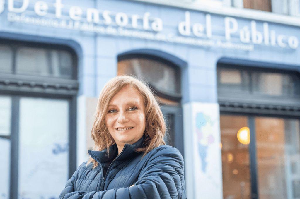 Miriam Lewin, titular de la Defensoría del Público Crédito: Archivo