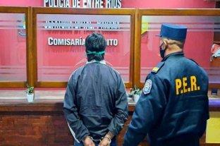 Detienen a hombre que roció con combustible e intentó prender fuego a su pareja en Entre Ríos