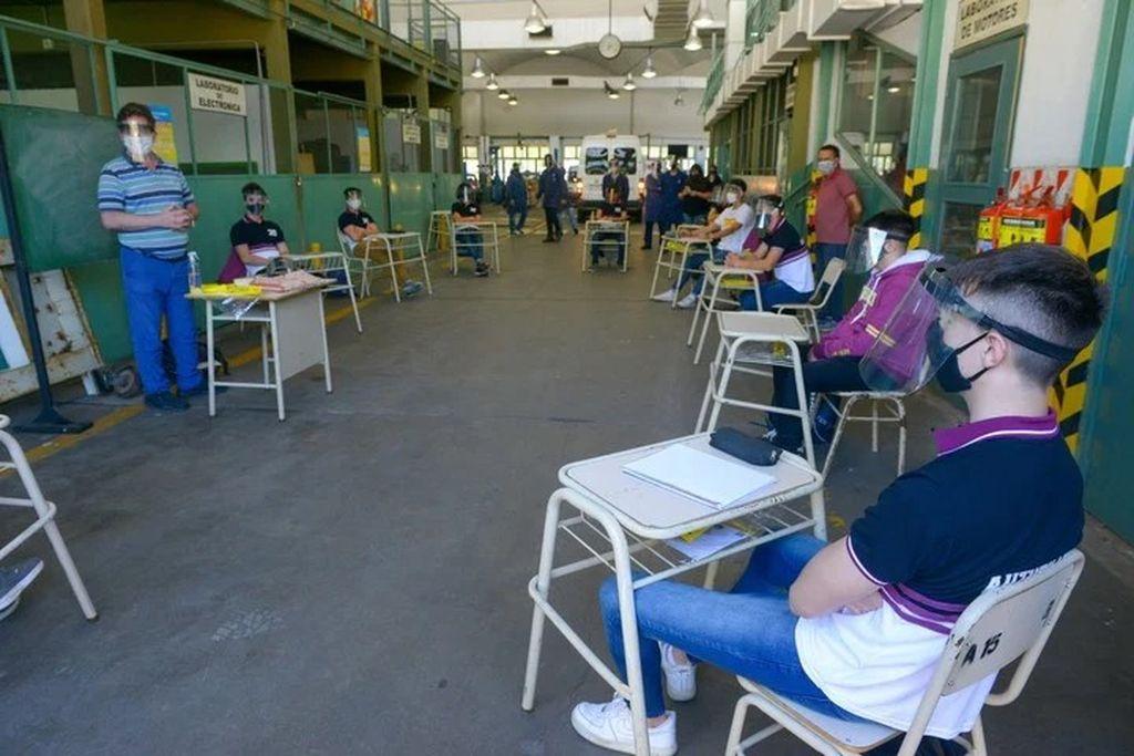 Escuela n° 5 Crédito: Gentileza Clarín