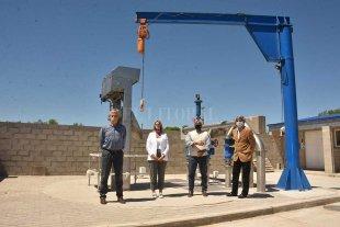 Torre Puerto culminó la primera etapa de obras de desagües del puerto santafesino