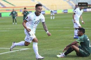 Luego de 15 años, Argentina le ganó a Bolivia en la altura de La Paz