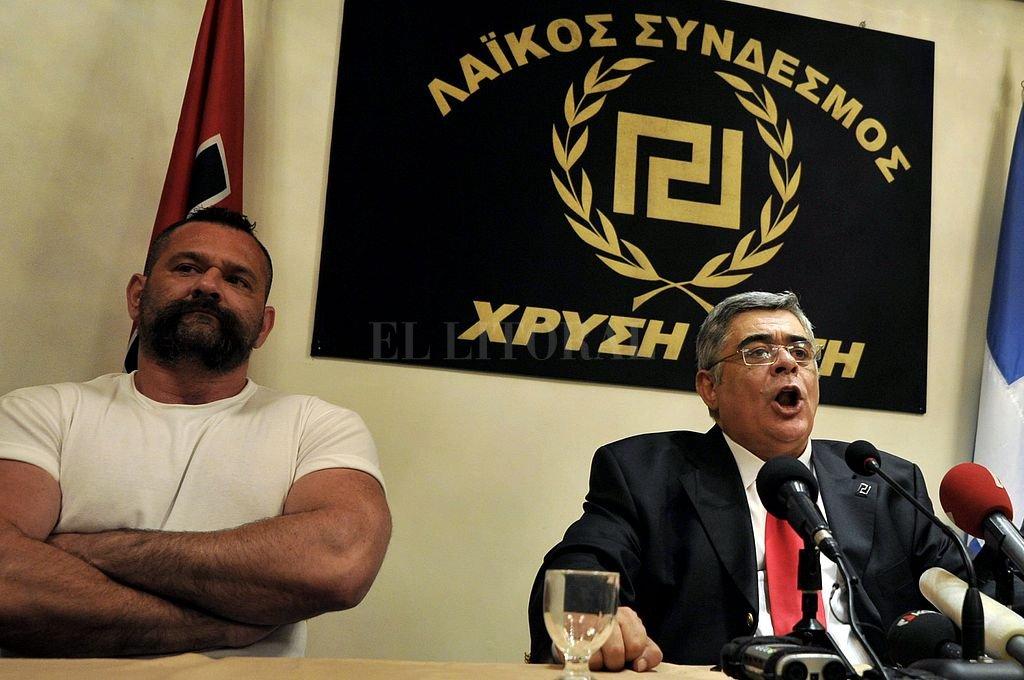 Nikolaos Michaloliakos. Crédito: Archivo El Litoral