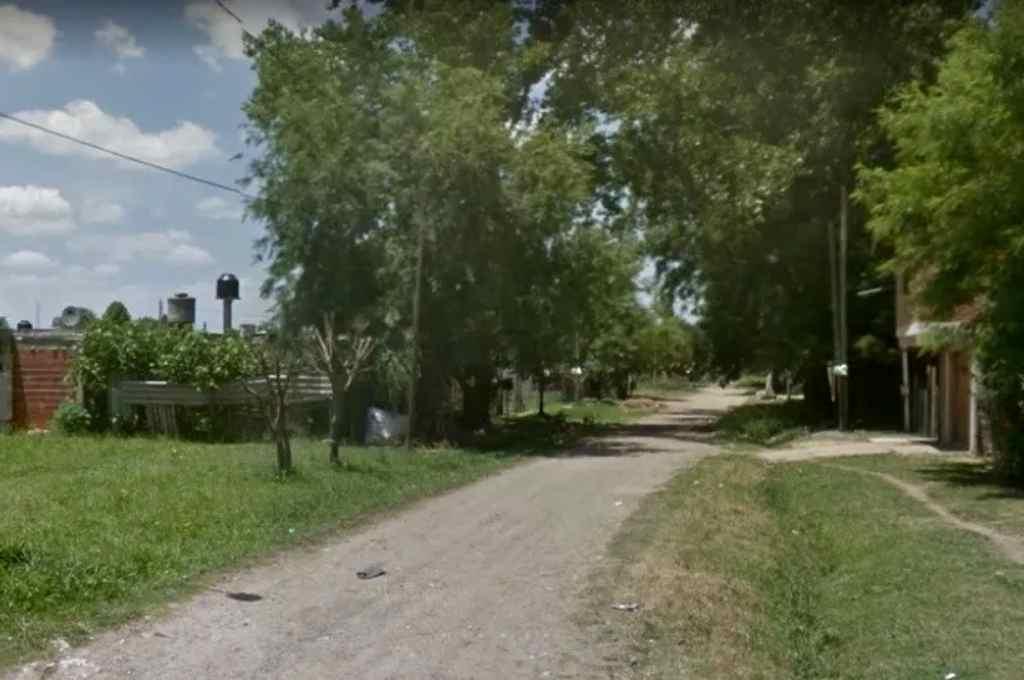 El lugar donde ocurrió el intento de robo y el posterior enfrentamiento.   Crédito: Gentileza