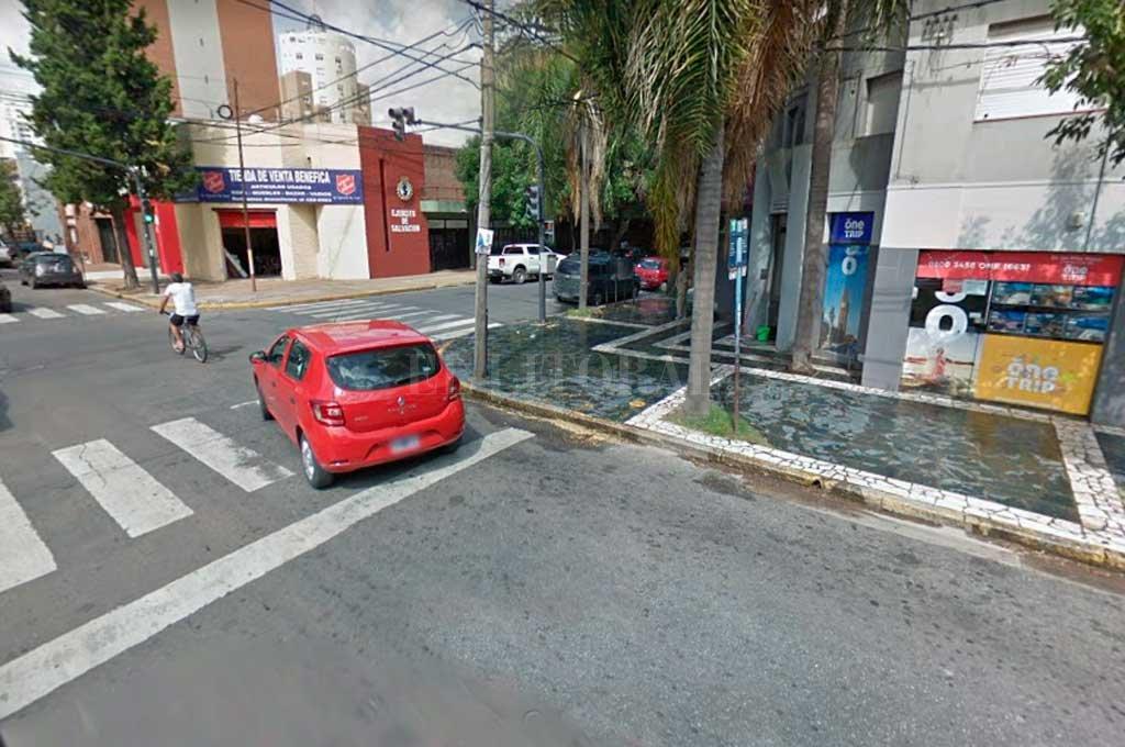 La zona donde se produjo uno de los hechos. Crédito: Captura de Pantalla - Google Street View