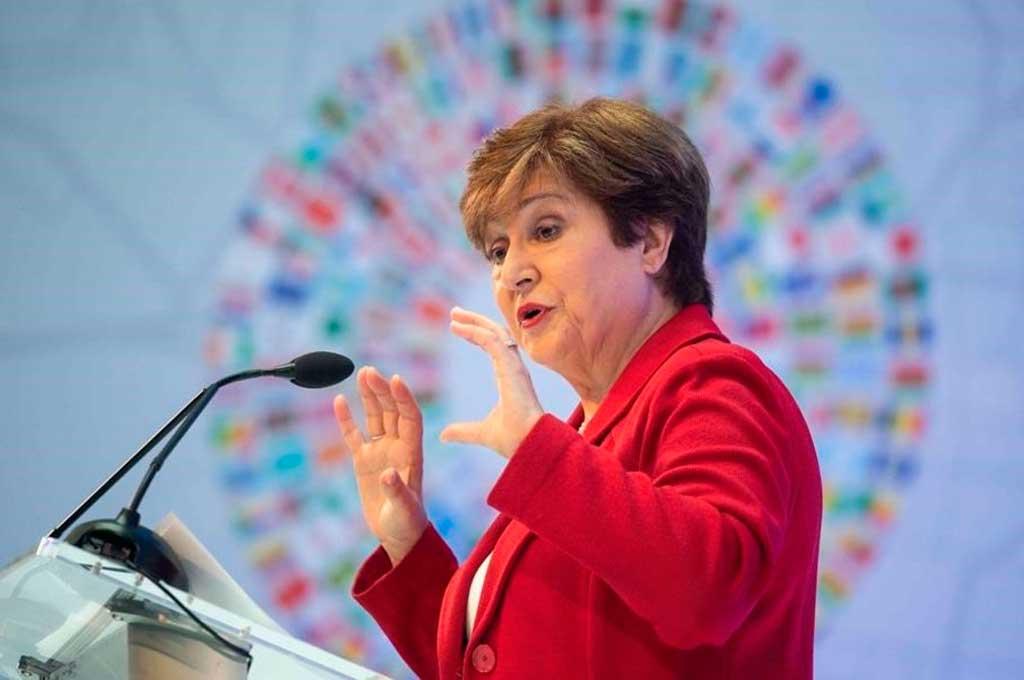 La directora gerente del FMI, Kristalina Georgieva.  Crédito: Gentileza