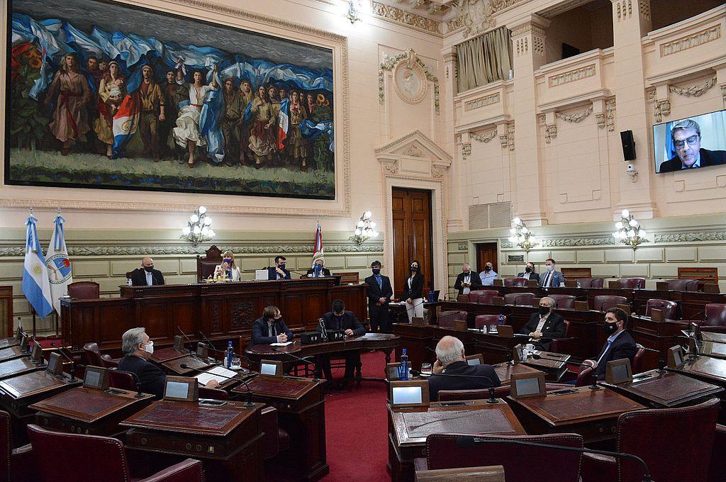 La Sesión Especial Conjunta de Ambas Cámaras necesita del quórum de cada cuerpo y  de sendas  mayorías para sancionar a fiscales y defensores. Crédito: Gentileza