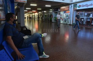 En la Terminal aguardan el decreto para   reactivar el transporte de larga distancia