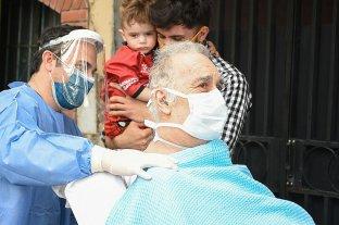 Tiene 70 años, estuvo 60 días en terapia y venció al coronavirus