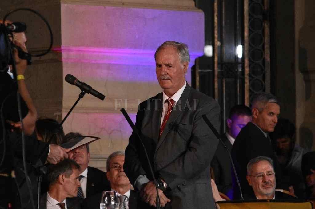 Rubén Weder, el Fiscal de Estado que concretó el recurso contra la decisión de la Sala Laboral de Rosario.    Crédito: Manuel Fabatía