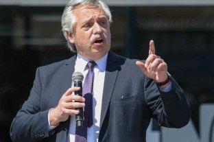 """""""Los que esperan una devaluación, se van a quedar esperando"""" dijo Alberto Fernández"""