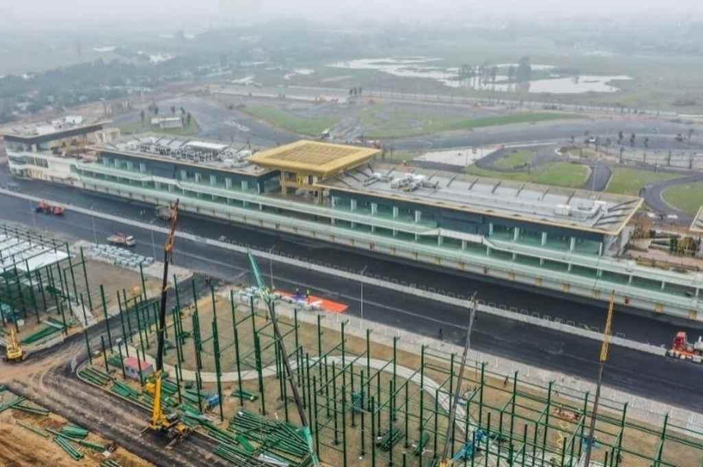 Perspectiva del circuito de Vietnam, donde se realizan diferentes obras para albergar a la máxima categoría.    Crédito: Gentileza
