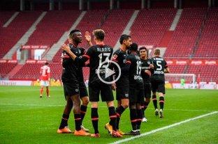 Con gol de Alario Bayer Leverkusen venció a Mainz 05